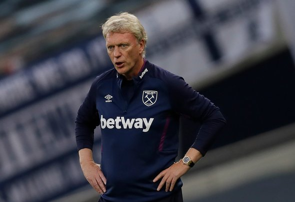 West Ham manager David Moyes