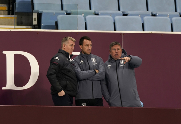 Aston Villa management team