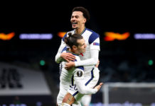 Tottenham players Dele Alli and Gareth Bale